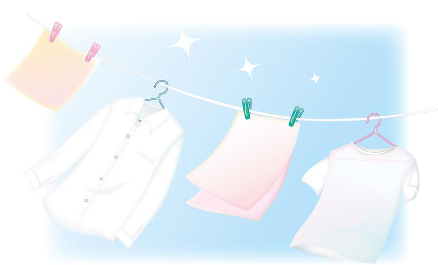 雨続きの洗濯物のカビ対策 (&緊急事態宣言下での営業について)